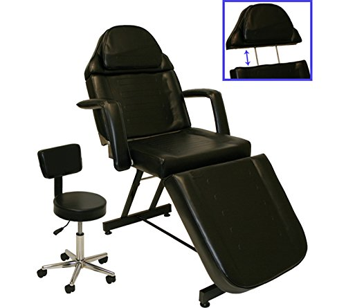 Inkbed tattoo package massage table chair arm bar bed tray for Cheap tattoo tables